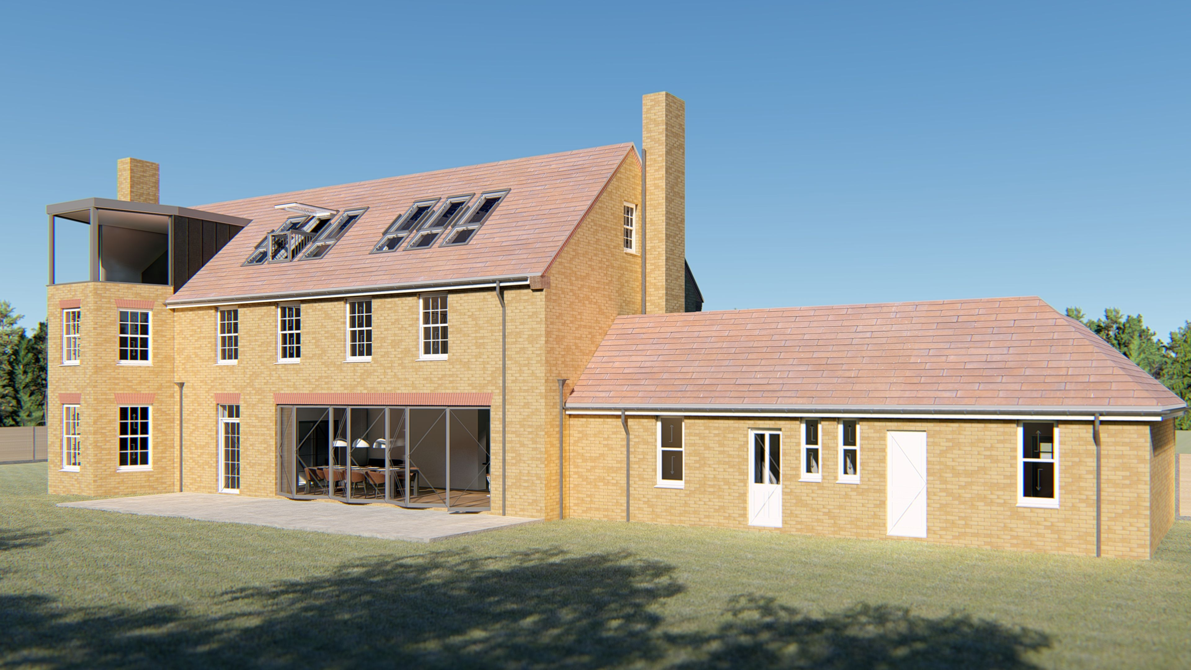 A substantial re-modelling project in north-west Norfolk