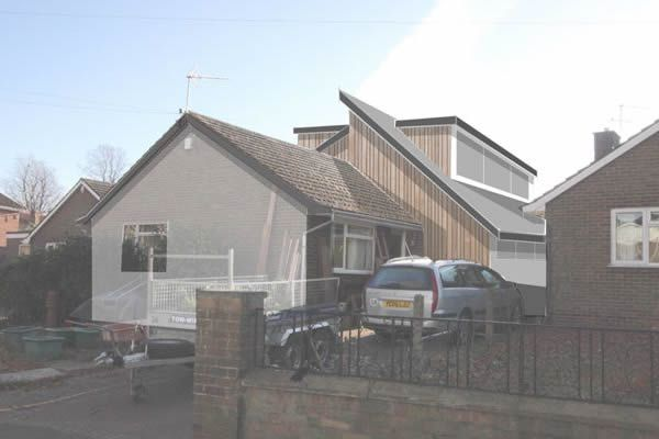 Bungalow extension in Norwich