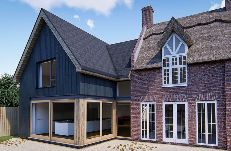 Listed Cottage Extension