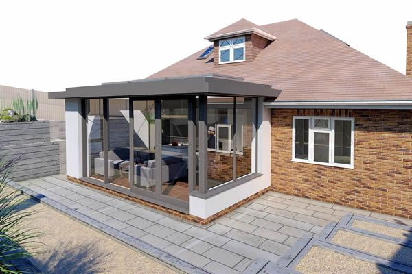 Single storey kitchen extension in Norwich